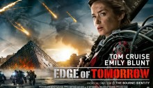 Edge Of Tomorrow Review - Emily Blunt as Rita at the Louvre
