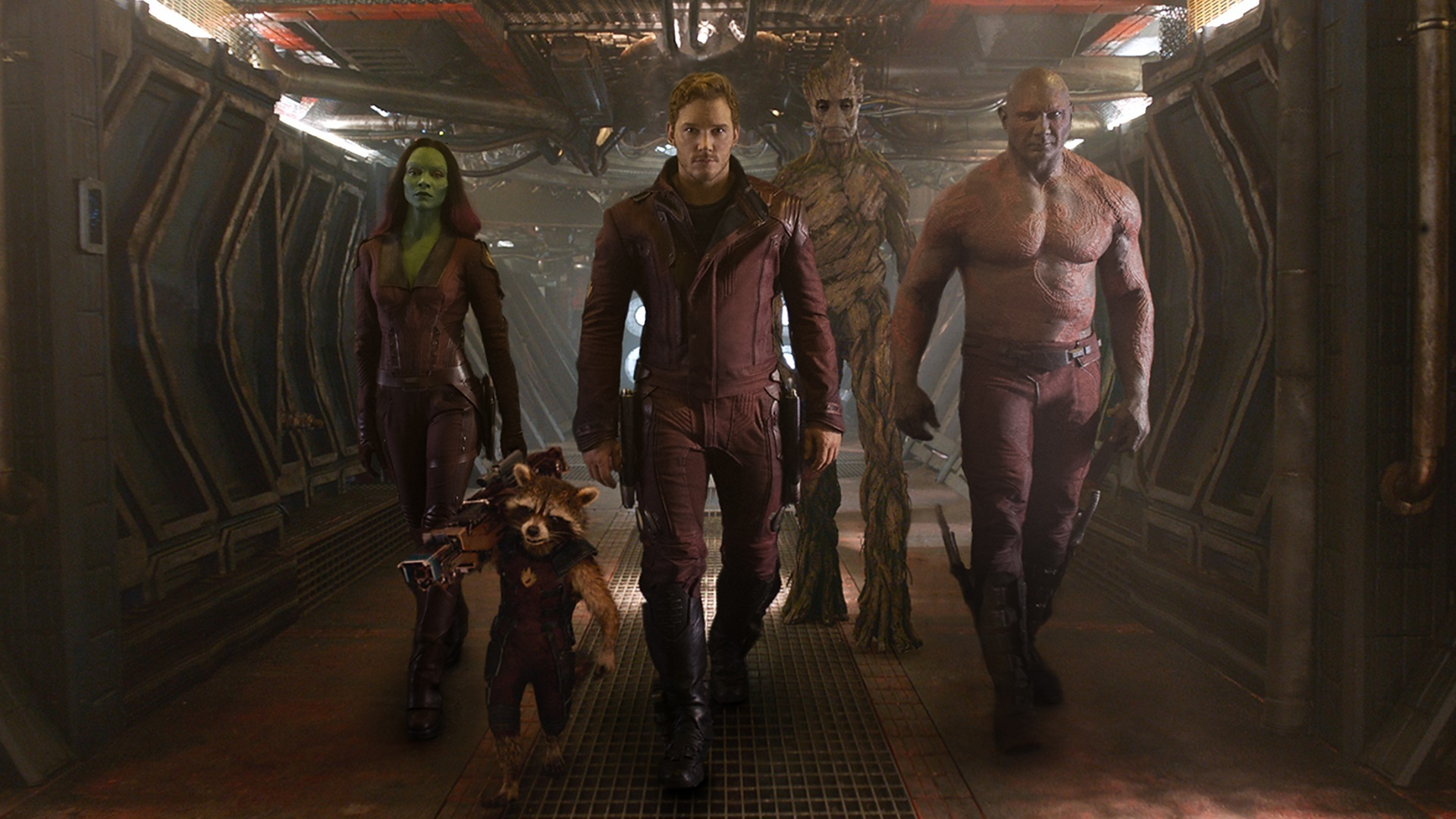 Guardians of The Galaxy walking - Guardians Of The Galaxy Extended Trailer