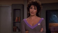 Star Trek The Next Generation Season 6 Blu-ray Review - Rascals - Marina Sirtis as Deanna Troi