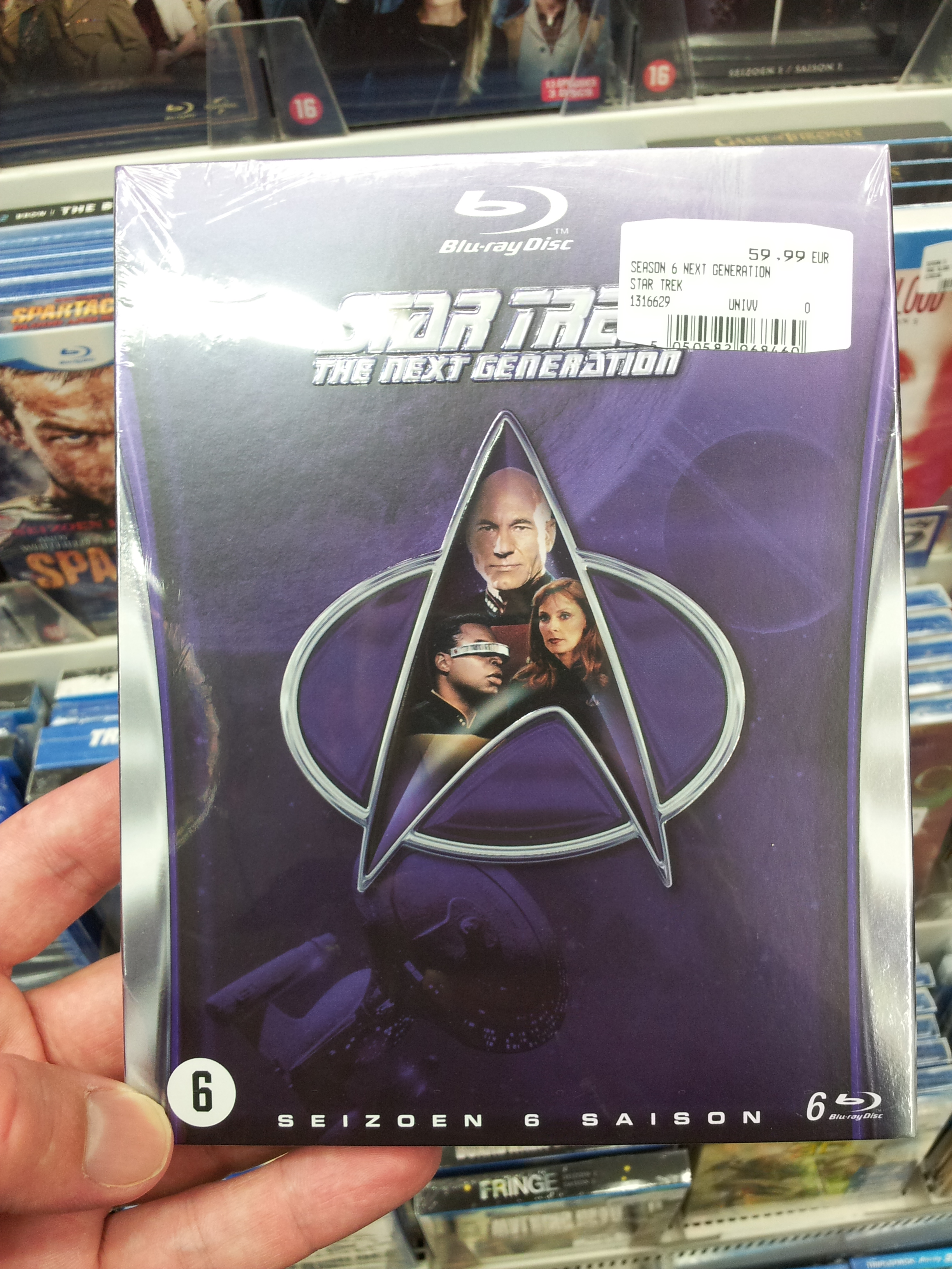 Star Trek The Next Generation Season 6 Blu-ray Review TNG season 6 boxset