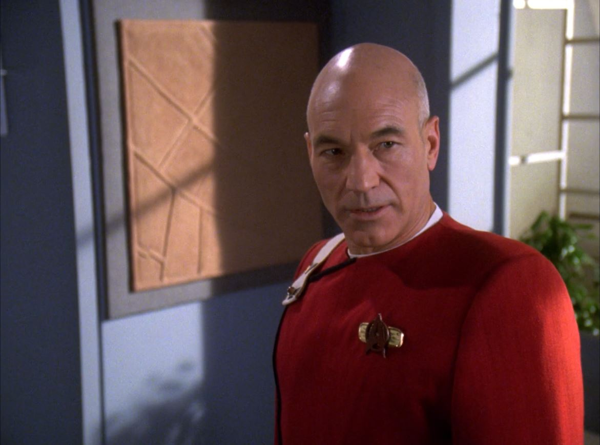 Star Trek The Next Generation Season 6 Blu-ray Review - Tapestry - Picard as a young ensign