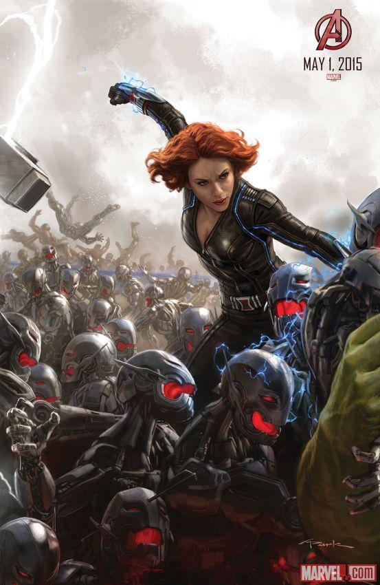 Avengers Age of Ultron Black Widow Scarlett Johansson - www.scifiempire.net