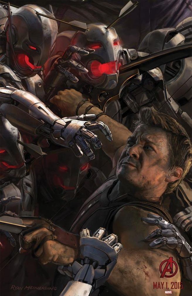 Avengers Age of Ultron Hawkey Jeremy Renner - www.scifiempire.net