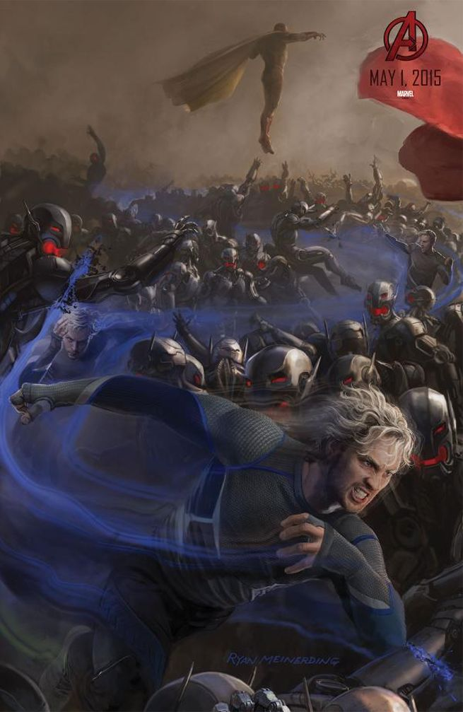 Avengers Age of Ultron Quicksilver Aaron Taylor-Johnson - www.scifiempire.net
