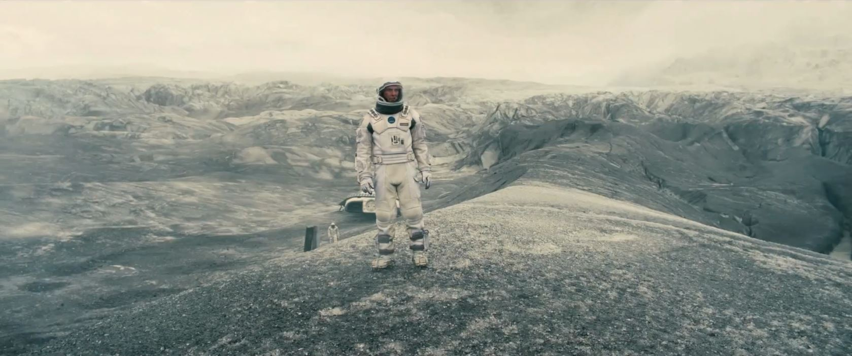 Interstellar trailer - ash planet