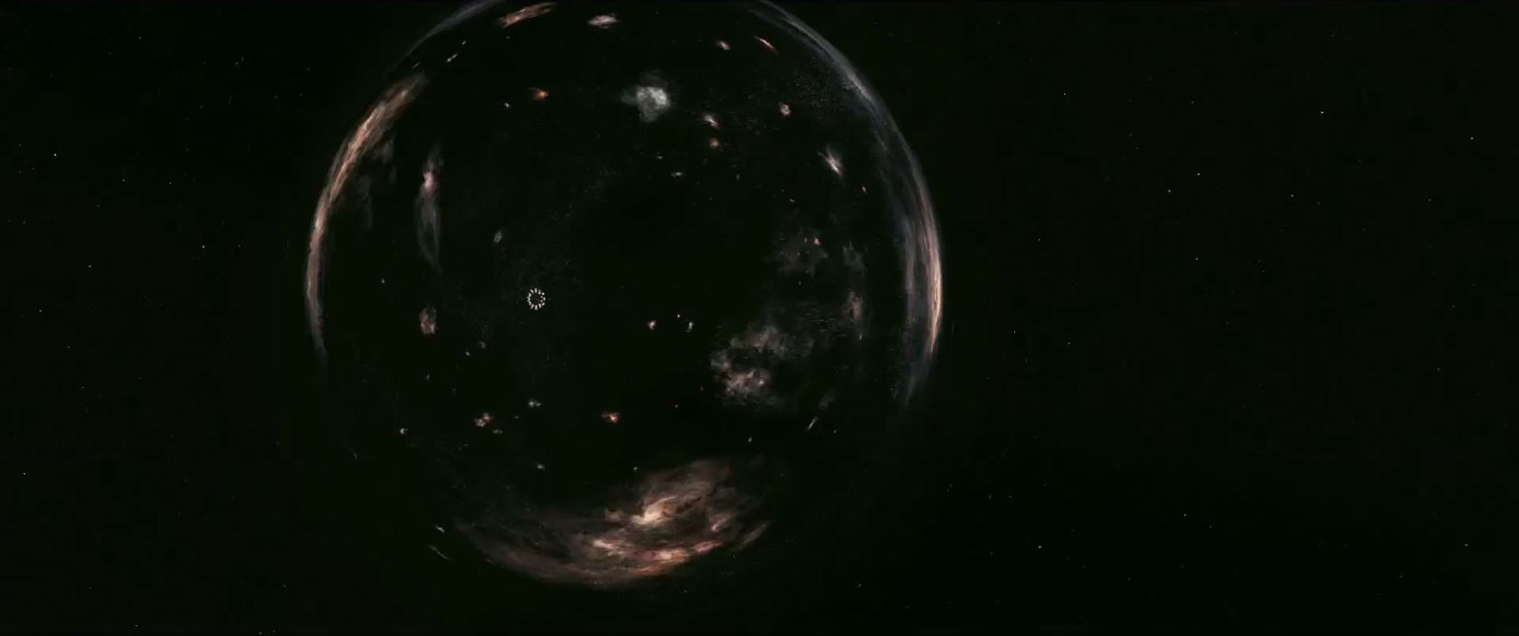 Interstellar trailer - wormhole