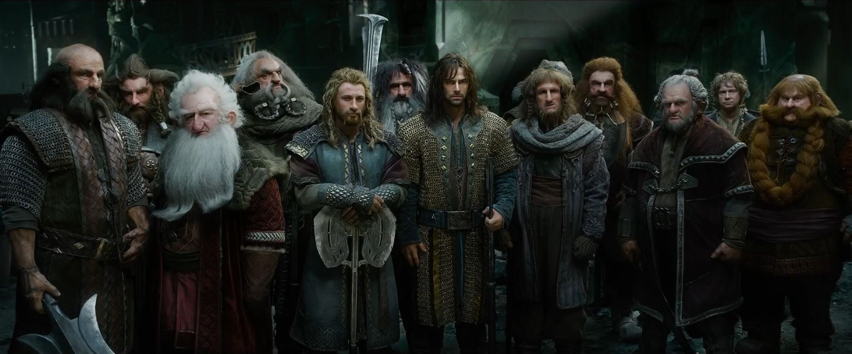 The Hobbit The Battle of the Five Armies Trailer - The Hobbit Dwarve company