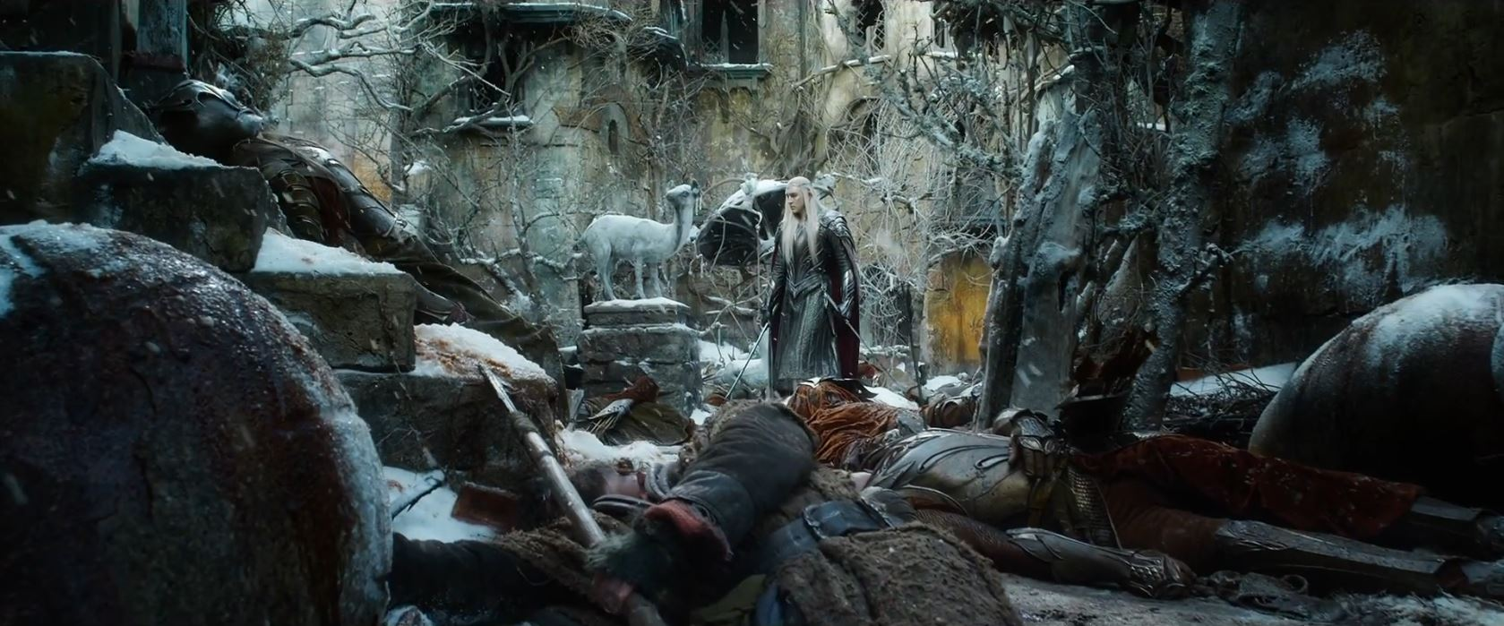 The Hobbit The Battle of the Five Armies Trailer - Thranduil