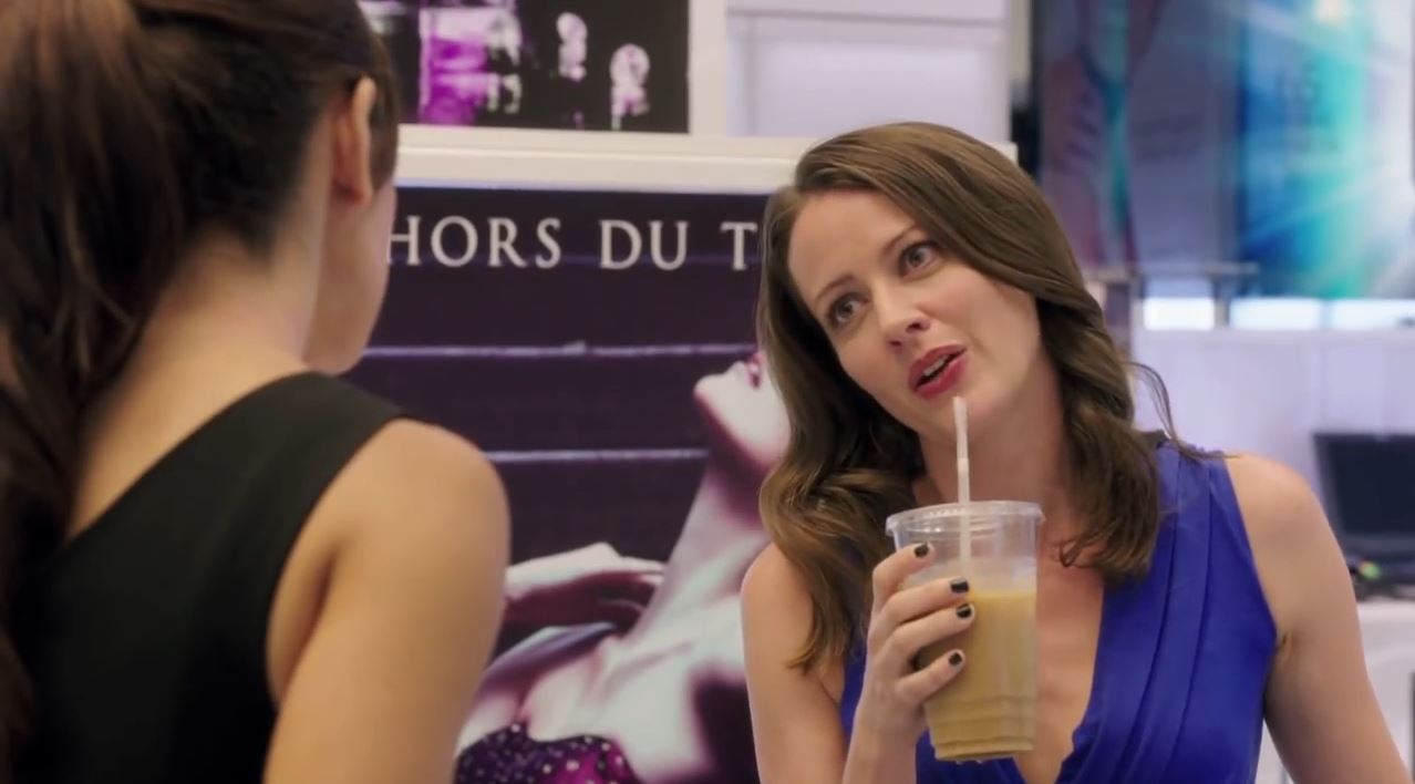 Person of Interest Season 4 Preview - Amy Acker as Root talking to Shaw