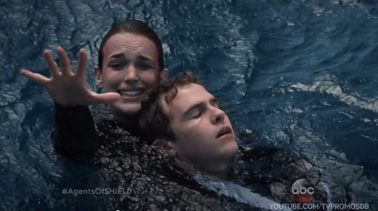 Agents of SHIELD Season 2 Trailer and Preview - Fitz and Simmons in the ocean