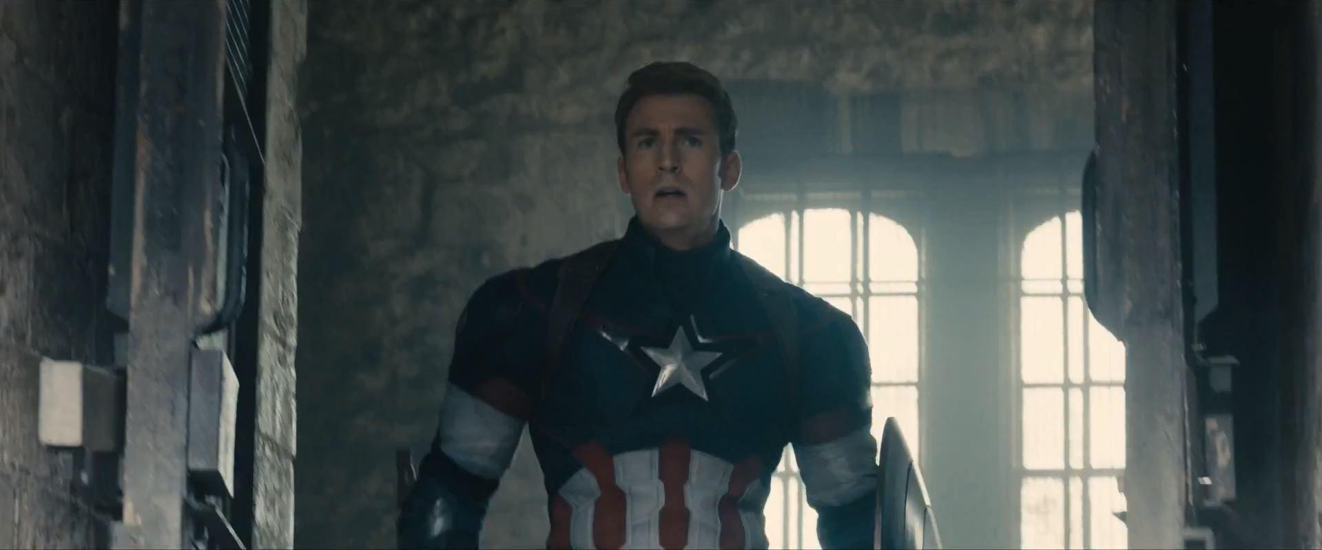 Avengers Age Of Ultron Trailer Released - Chris Evans as Steve Rogers Captain America