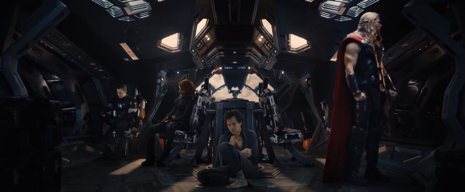 Avengers Age Of Ultron Trailer Released - avengers defeated (Thor, Hulk, Black Widow and Captain America)