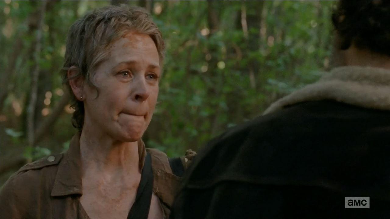 The Walking Dead S5Ep1 No Sanctuary Review - Melissa McBride as Carol