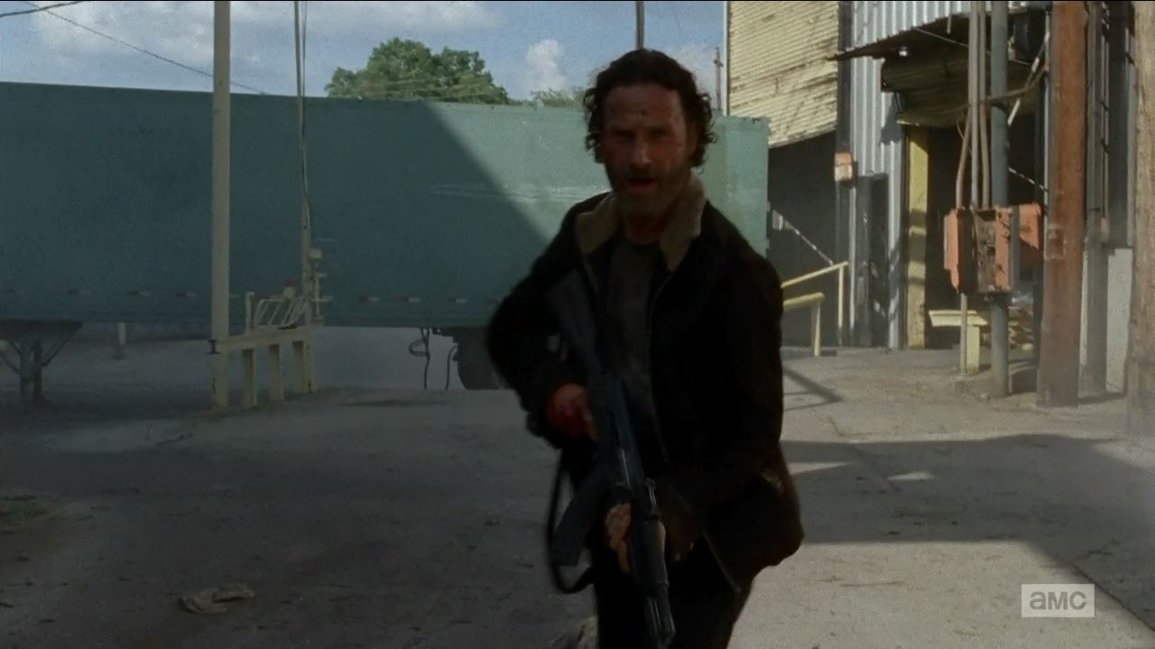 The Walking Dead S5Ep1 No Sanctuary Review - Rick got his groove back with the kalashnikov