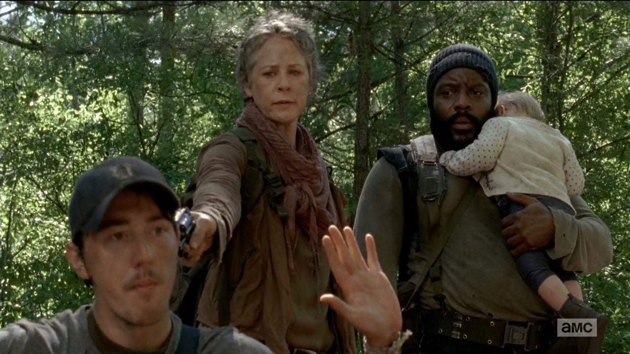 The Walking Dead S5Ep1 No Sanctuary Review - Tyreese and Carol capture Martin