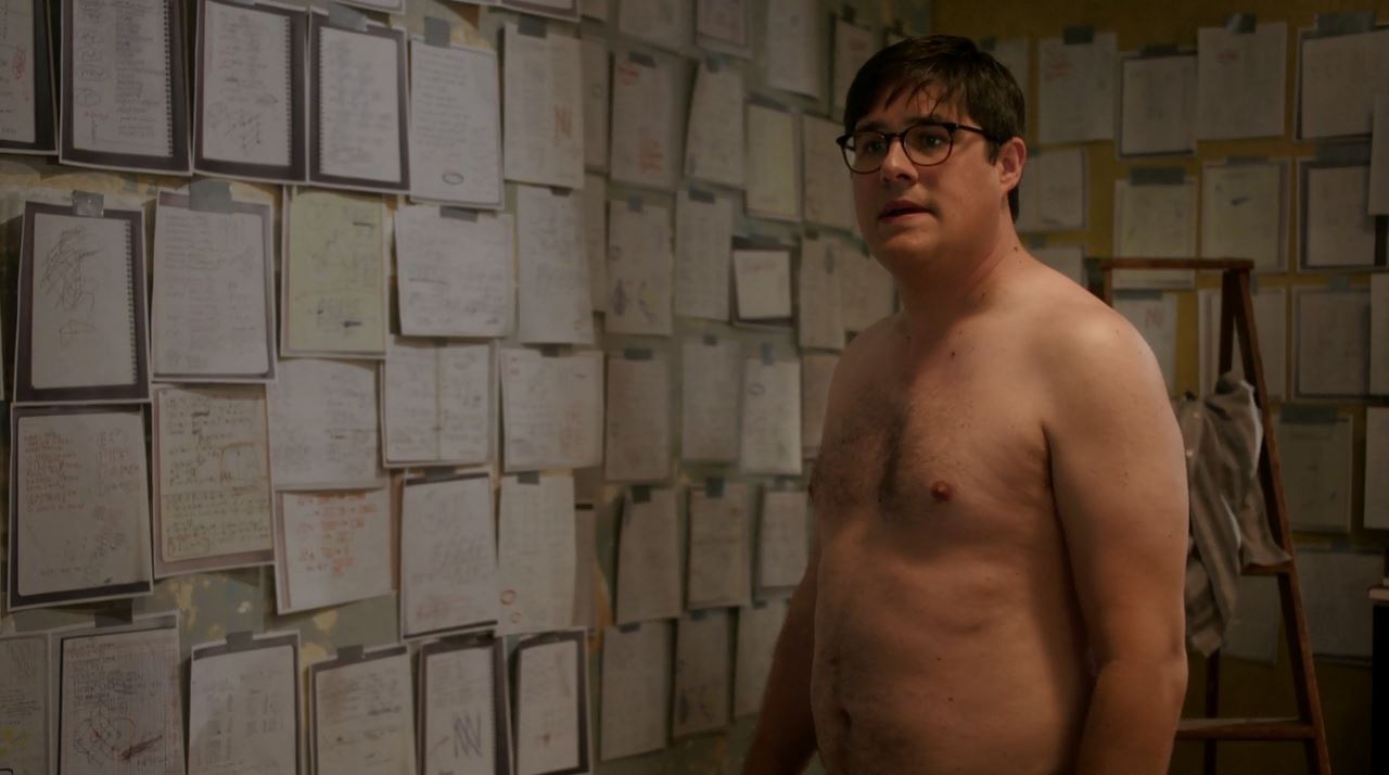 Harlan Emple shirtless Rich Sommer - Elementary Just a Regular Irregular Review