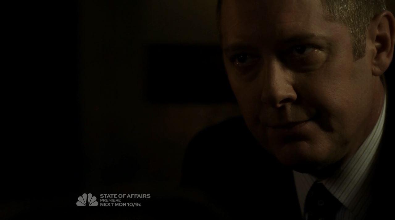 James Spader as Raymond Red Reddington - The Blacklist mid-season finale The Decembrist Review