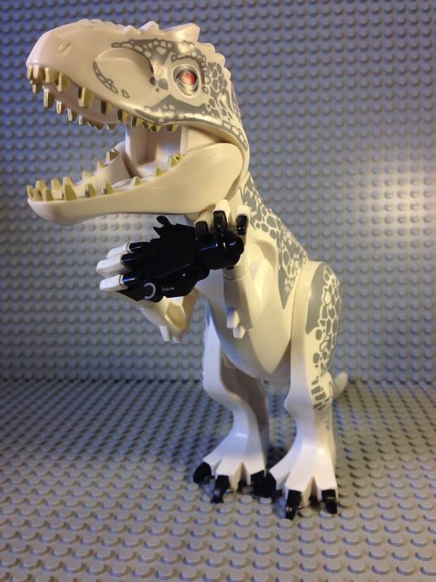LEGO D-rex jurassic world