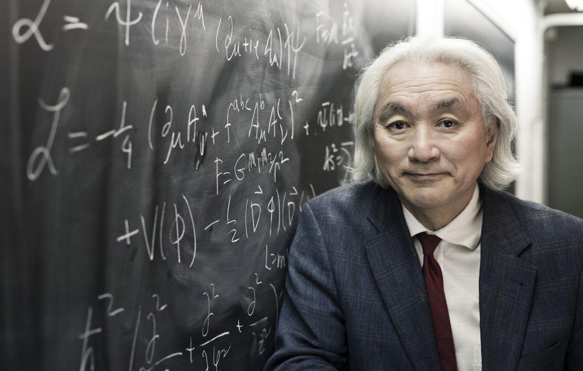 Michio Kaku with equations. Michio Kaku to host Cosmos season 2
