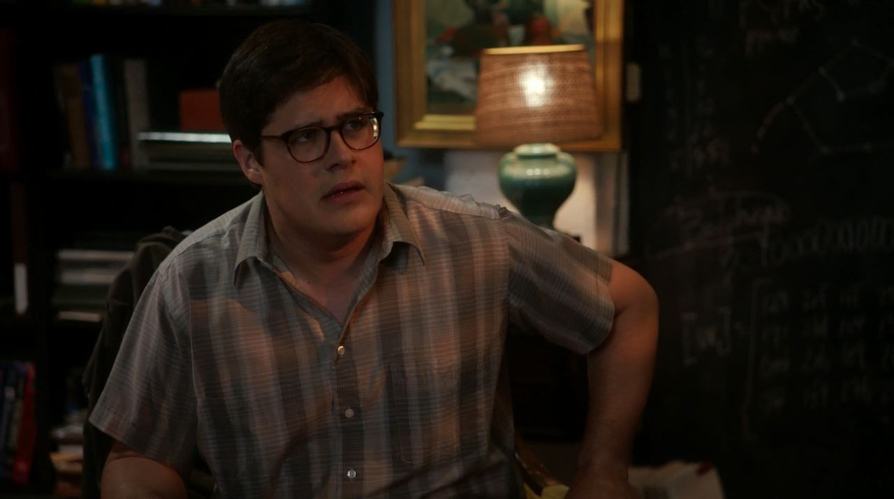 Rich Sommer plays Harlan Emple in Elementary Just a Regular Irregular Review