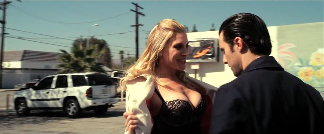 Katee Sackhoff and Tricia Helfer pose for 2015 Acting Outlaws Calendar