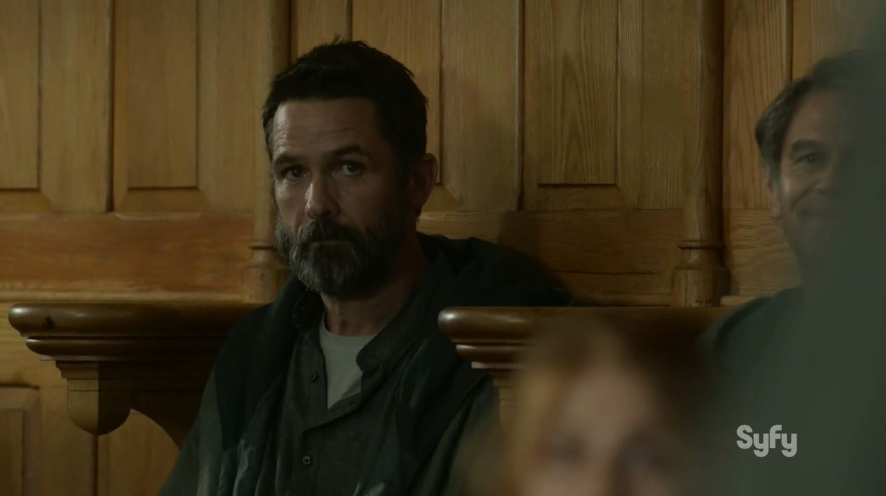 Billy Campbell as Alan Farragut. Helix S2Ep2 Reunion Review