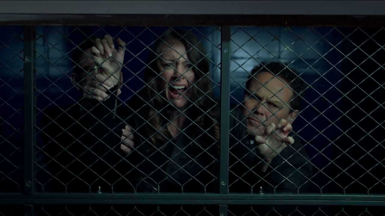 Person of Interest S4Ep11 If-Then-Else Review - Fusco pulls away Root as Shaw is shot