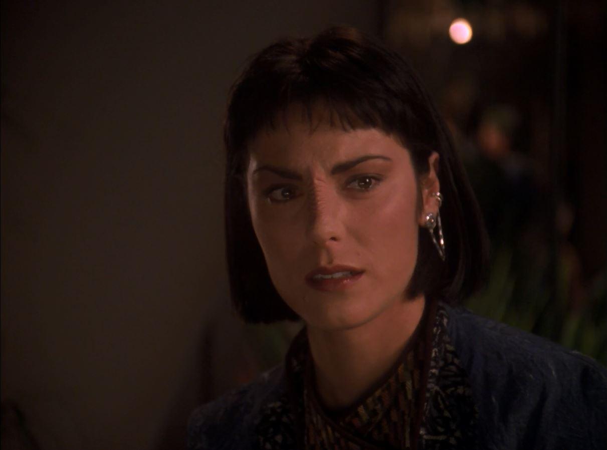 Star Trek TNG Season 7 Blu-ray Review. Michelle Forbes as Ro Laren