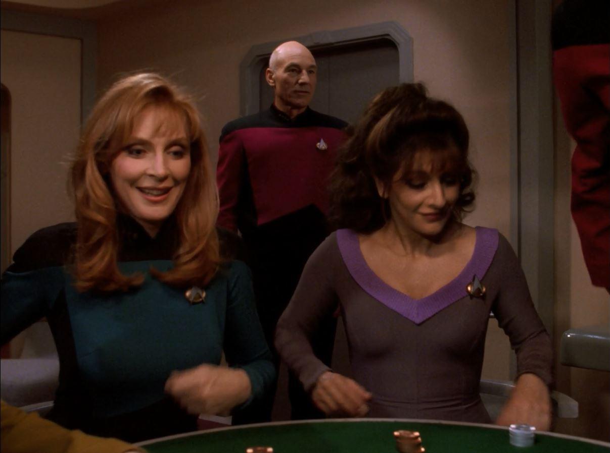 Star Trek TNG Season 7 Blu-ray Review. Picard finally joins the poker game