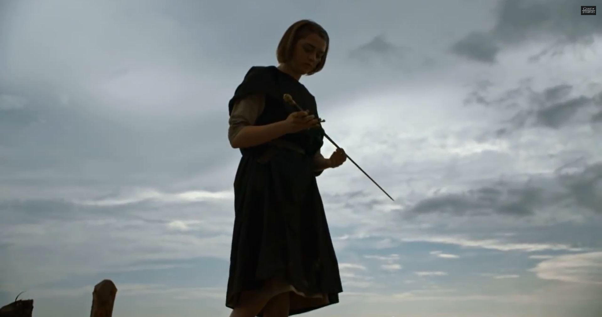 Game Of Thrones Season 5 Preview. Maisie Williams as Arya Stark