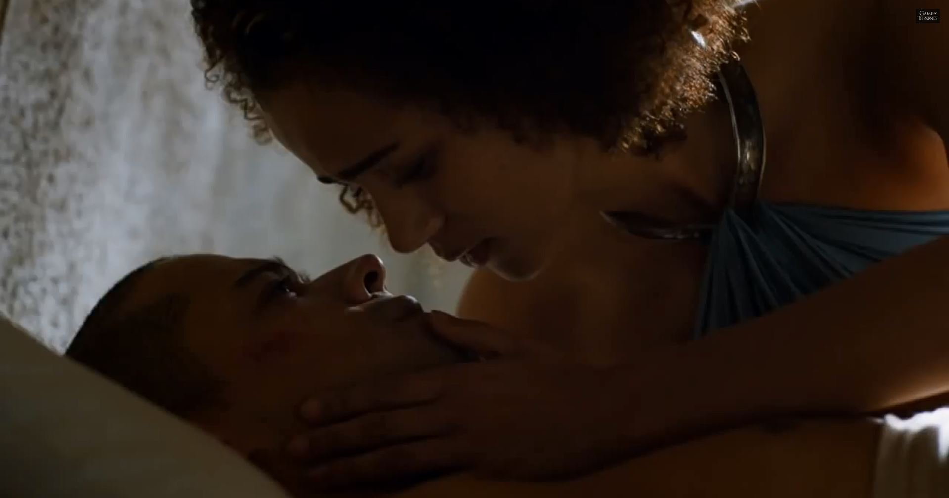 Game Of Thrones Season 5 Preview. Missandei and Grey Worm