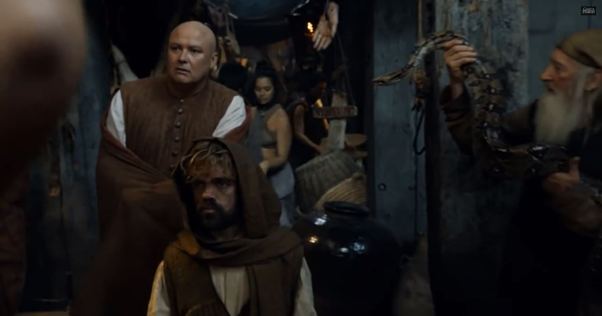 Game Of Thrones Season 5 Preview. Varys and Tyrion