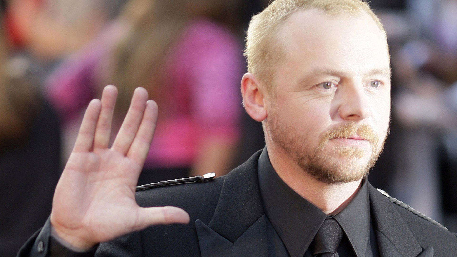 Simon Pegg. Star Trek 3 News Roundup