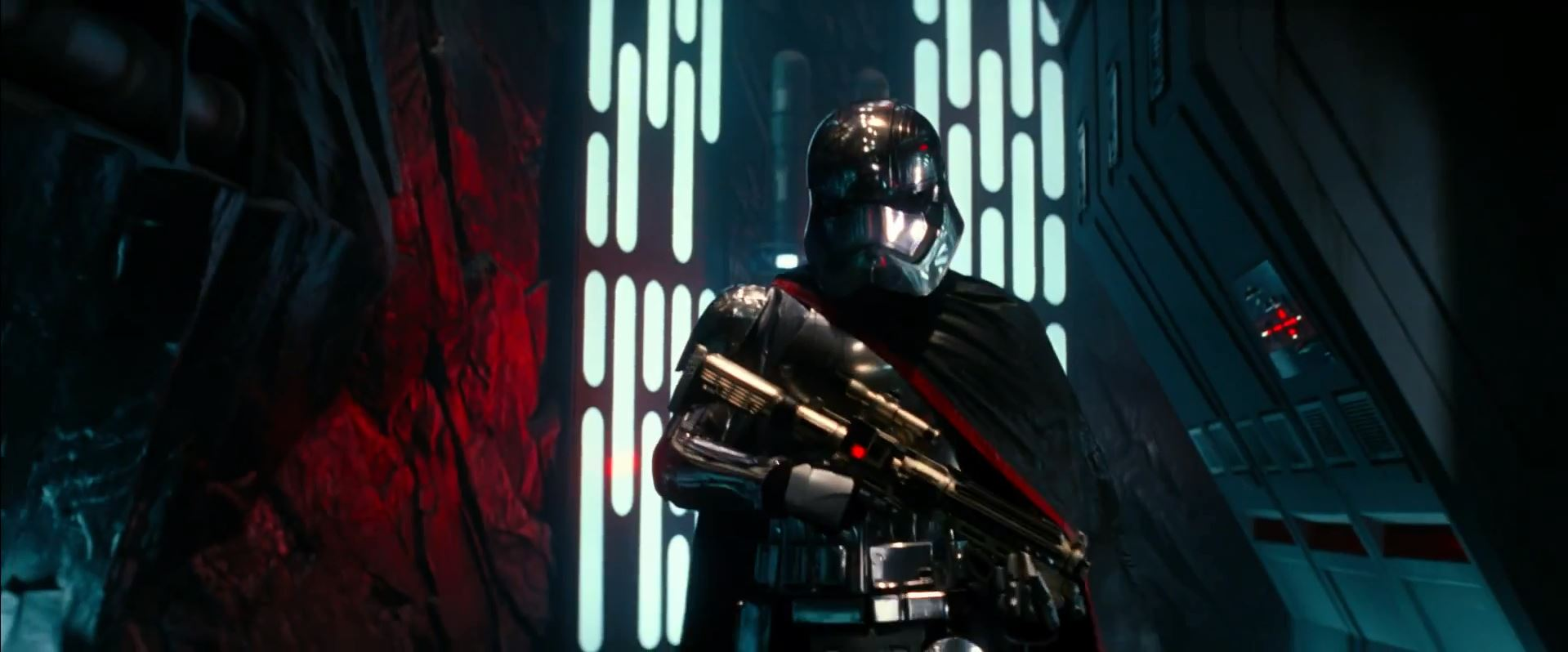 Gwendoline Christie as a super trooper
