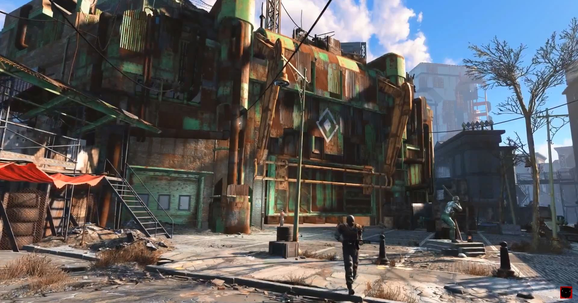 Fallout 4 - A Secure City