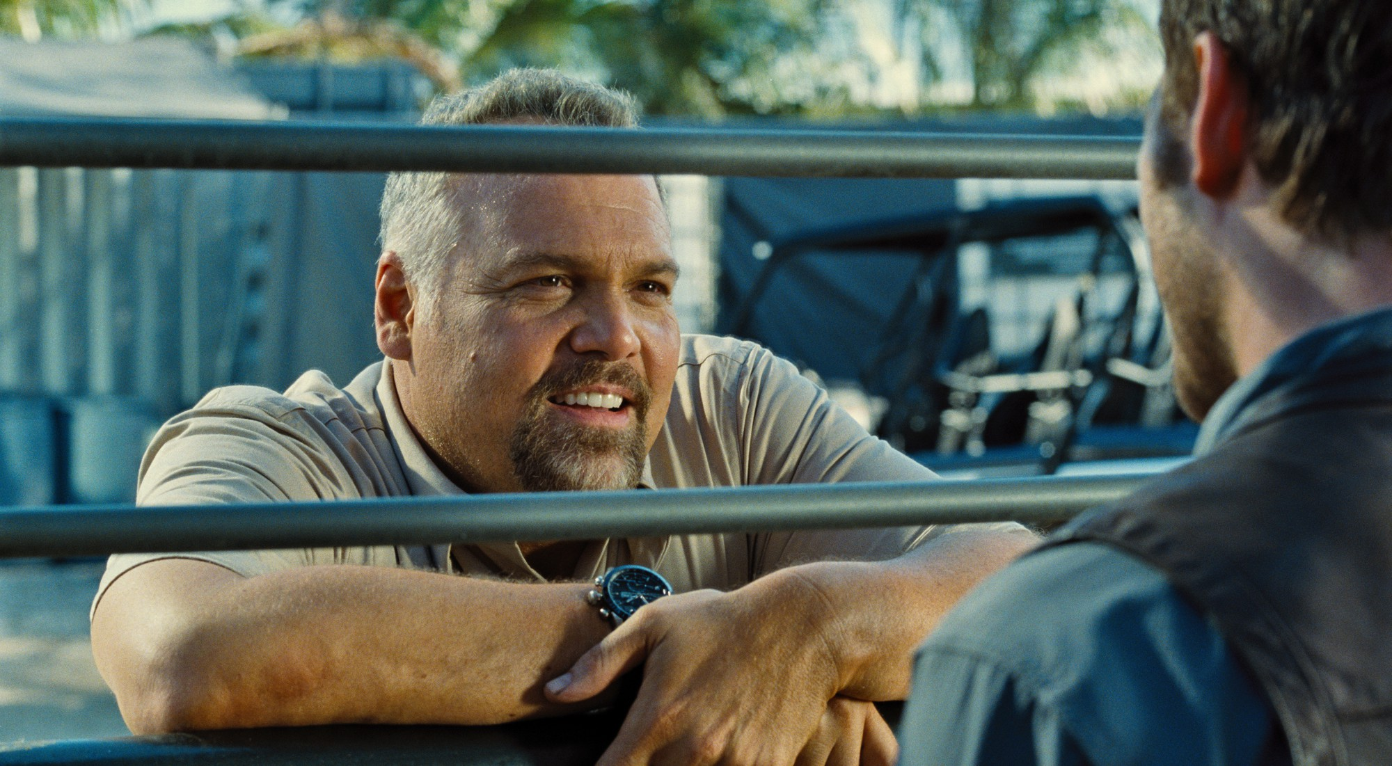 Jurassic World - Vincent D'Onofrio as Vic Hoskins