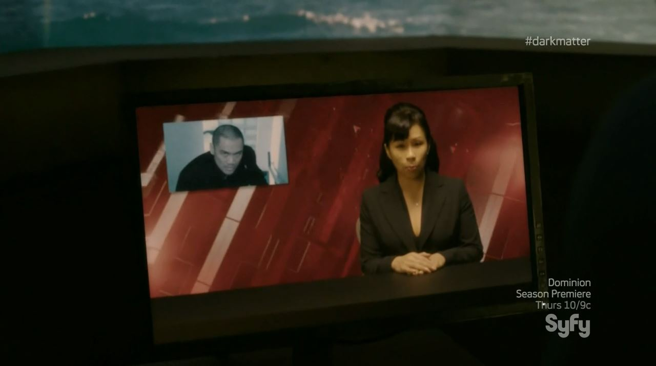 Alex Mallari as crown prince Ryo Tetsuda. Dark Matter Episode 4 Review