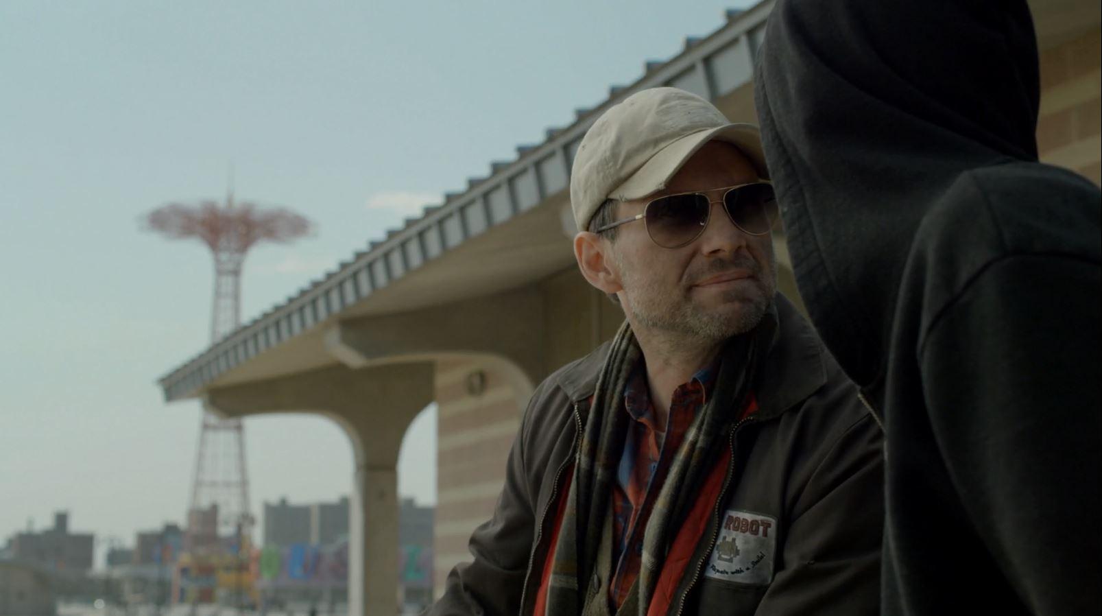 Christian Slater as Mr. Robot.