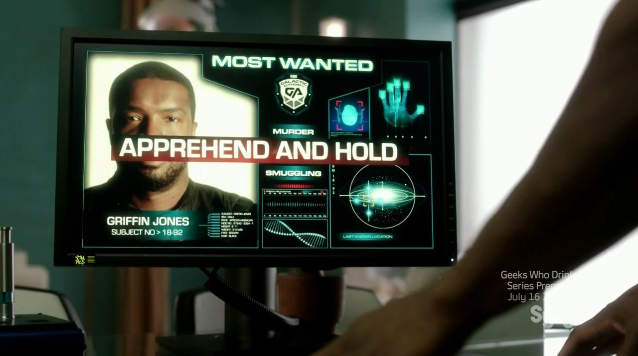 Roger Cross as Griffin Jones - most wanted. Dark Matter Episode 4 Review