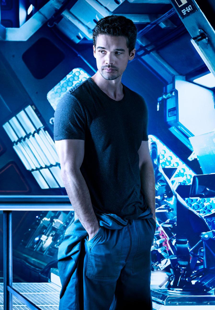 Steven Stair as Jim Holden - The Expanse