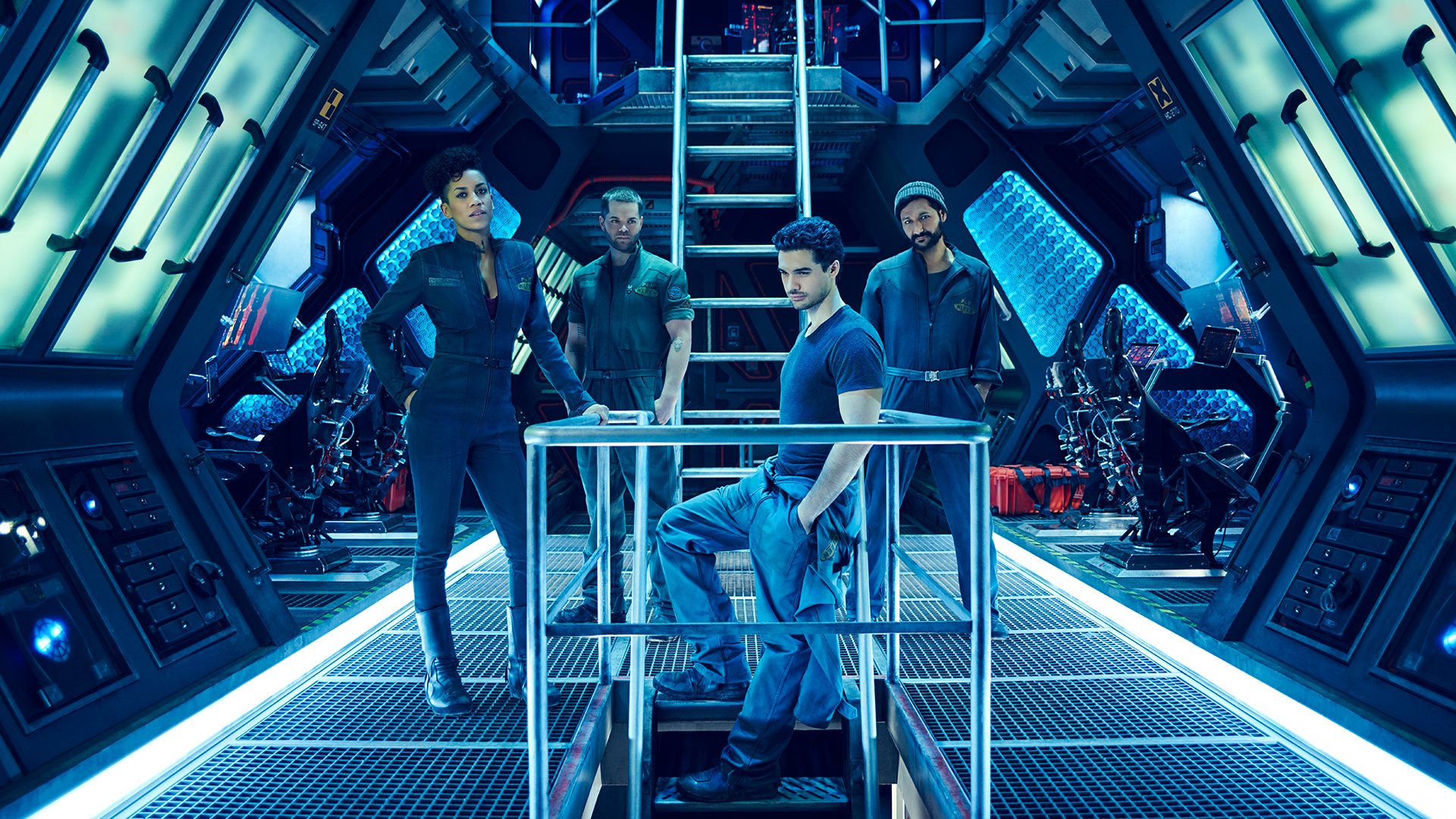 The Expanse. Crew of Canterbury