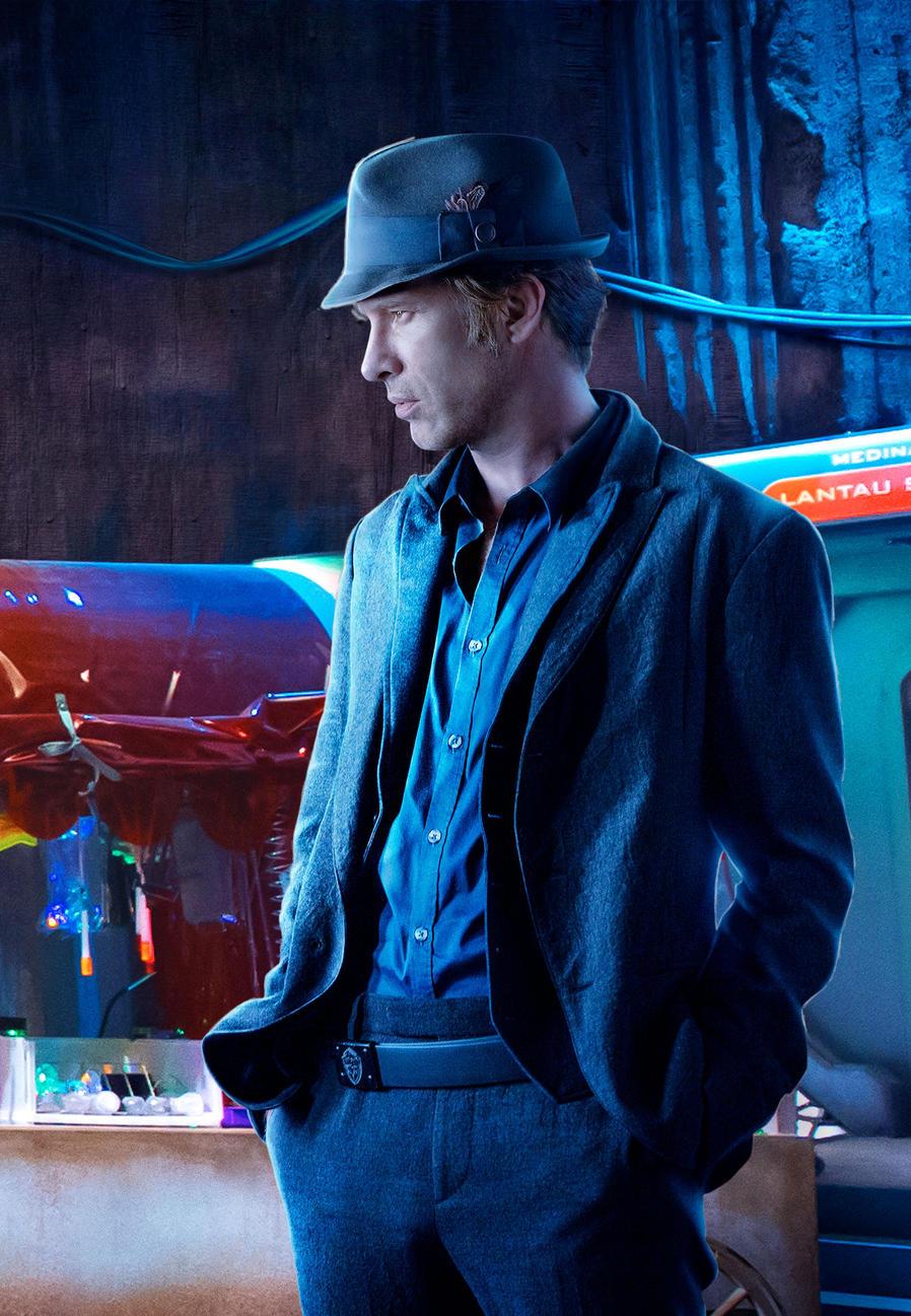 Thomas Jane as Miller. The Expanse