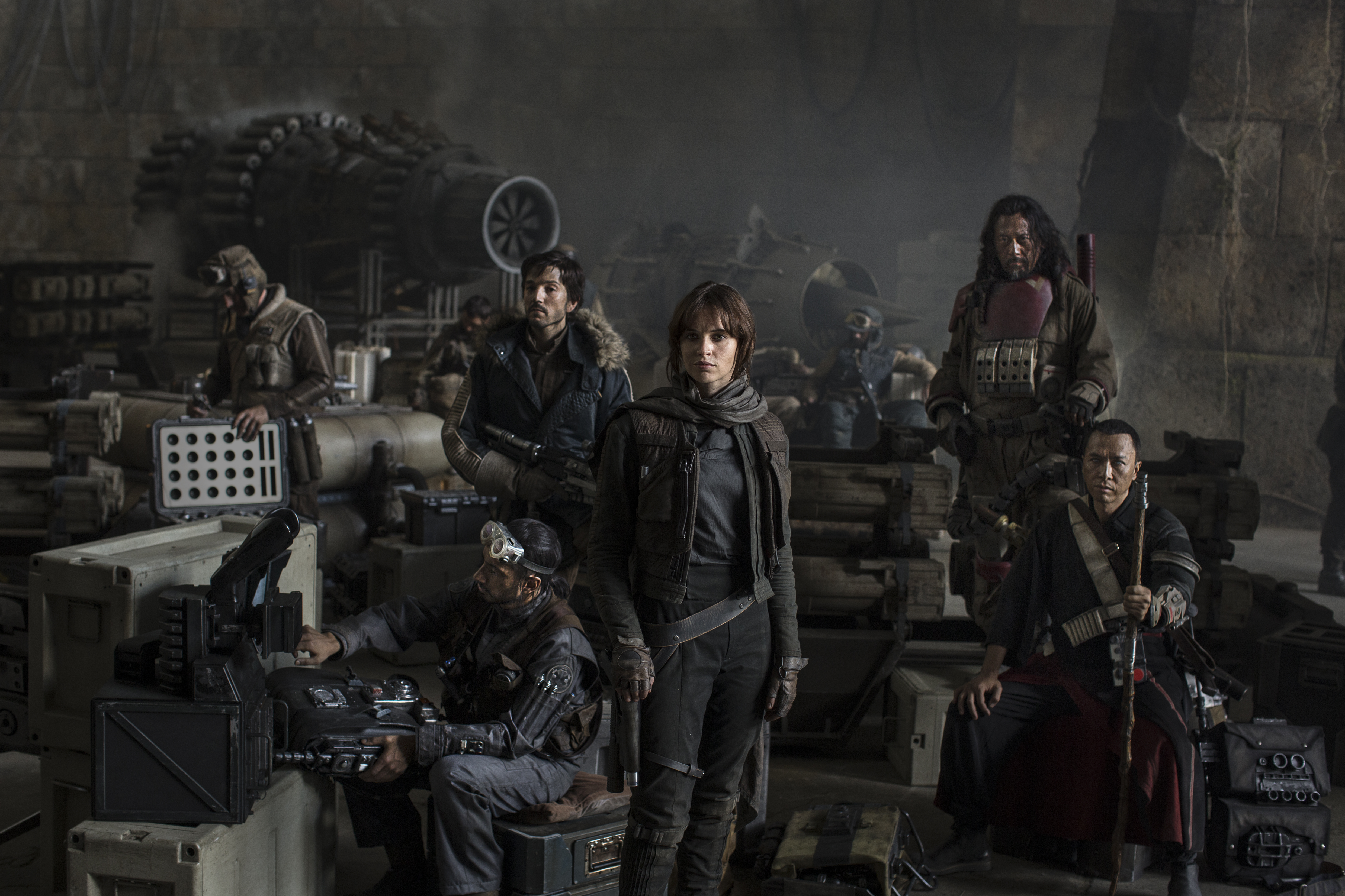 Rogue One A Star Wars Story major cast lineup