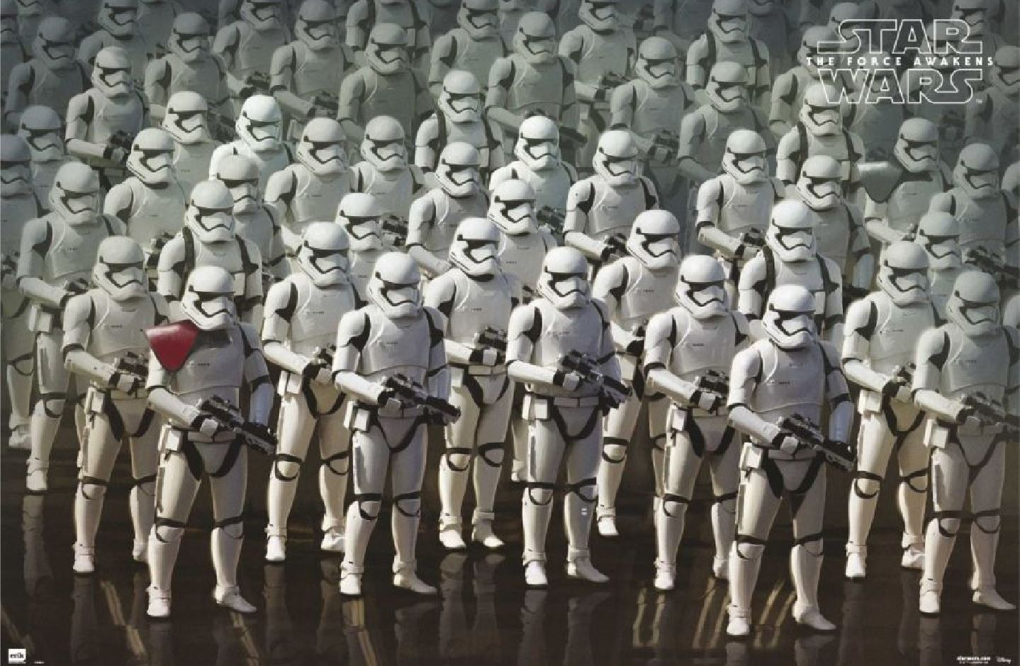 First Order Stormtroopers in The Force Awakens