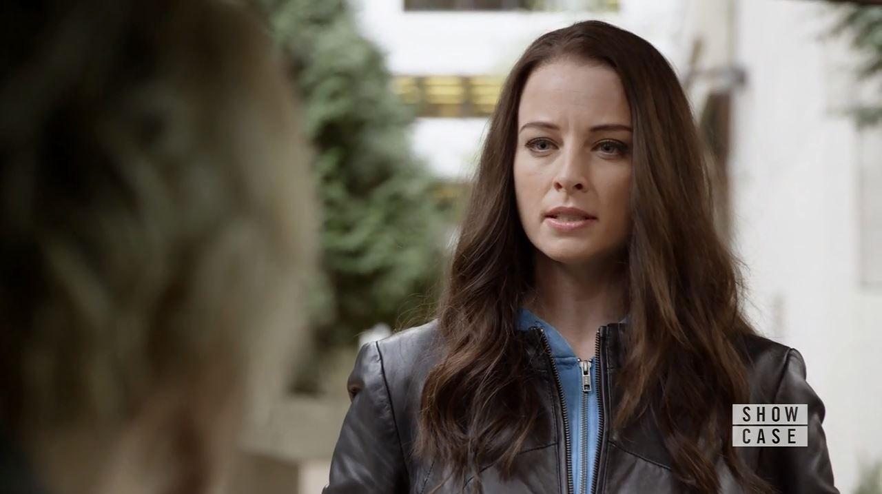 Kiera talks to Garza. Continuum Season 4 Premiere Review