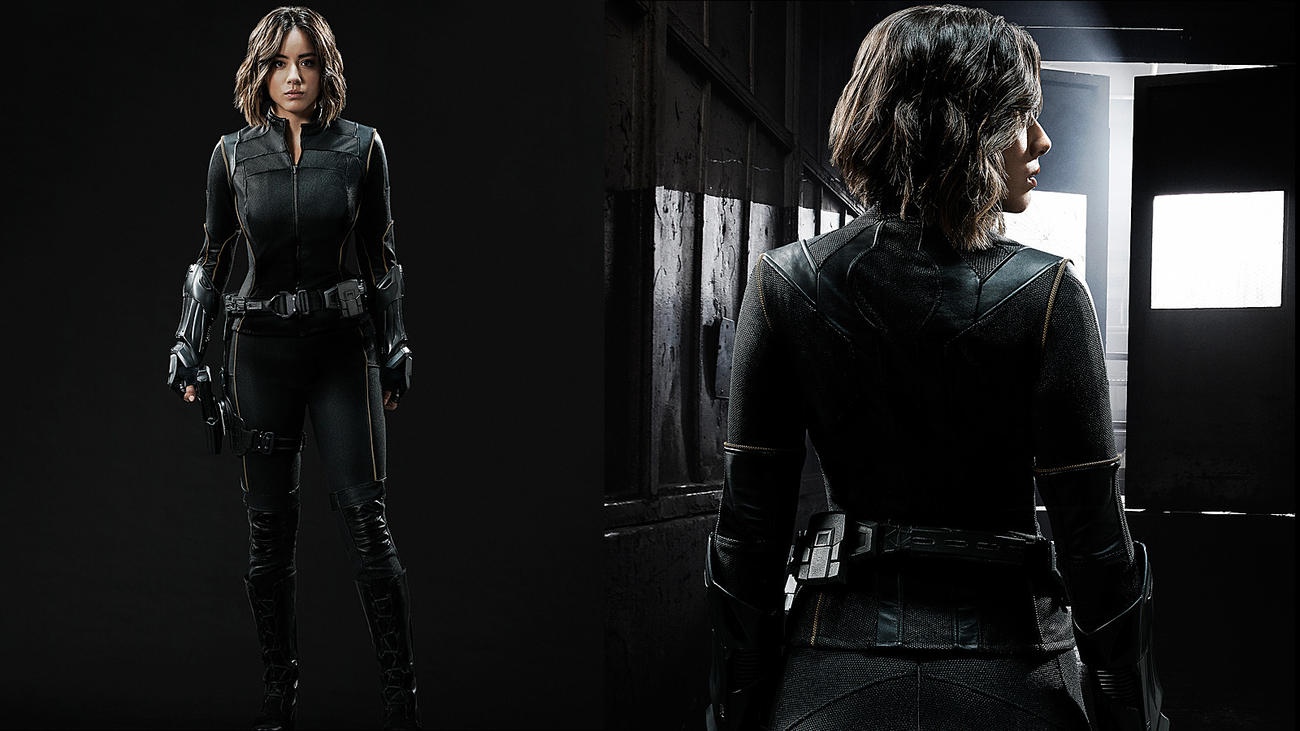 Skye new Quake uniform. Agents of SHIELD Season 3 Preview