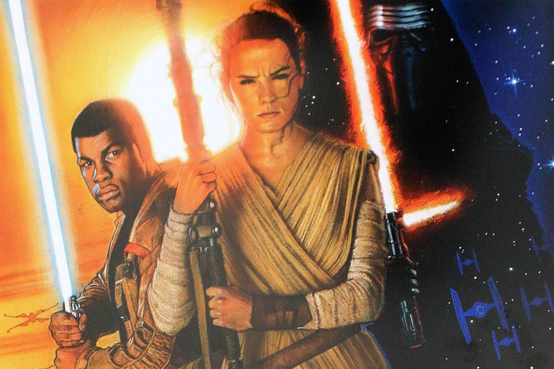 The Force Awakens books and novels announced