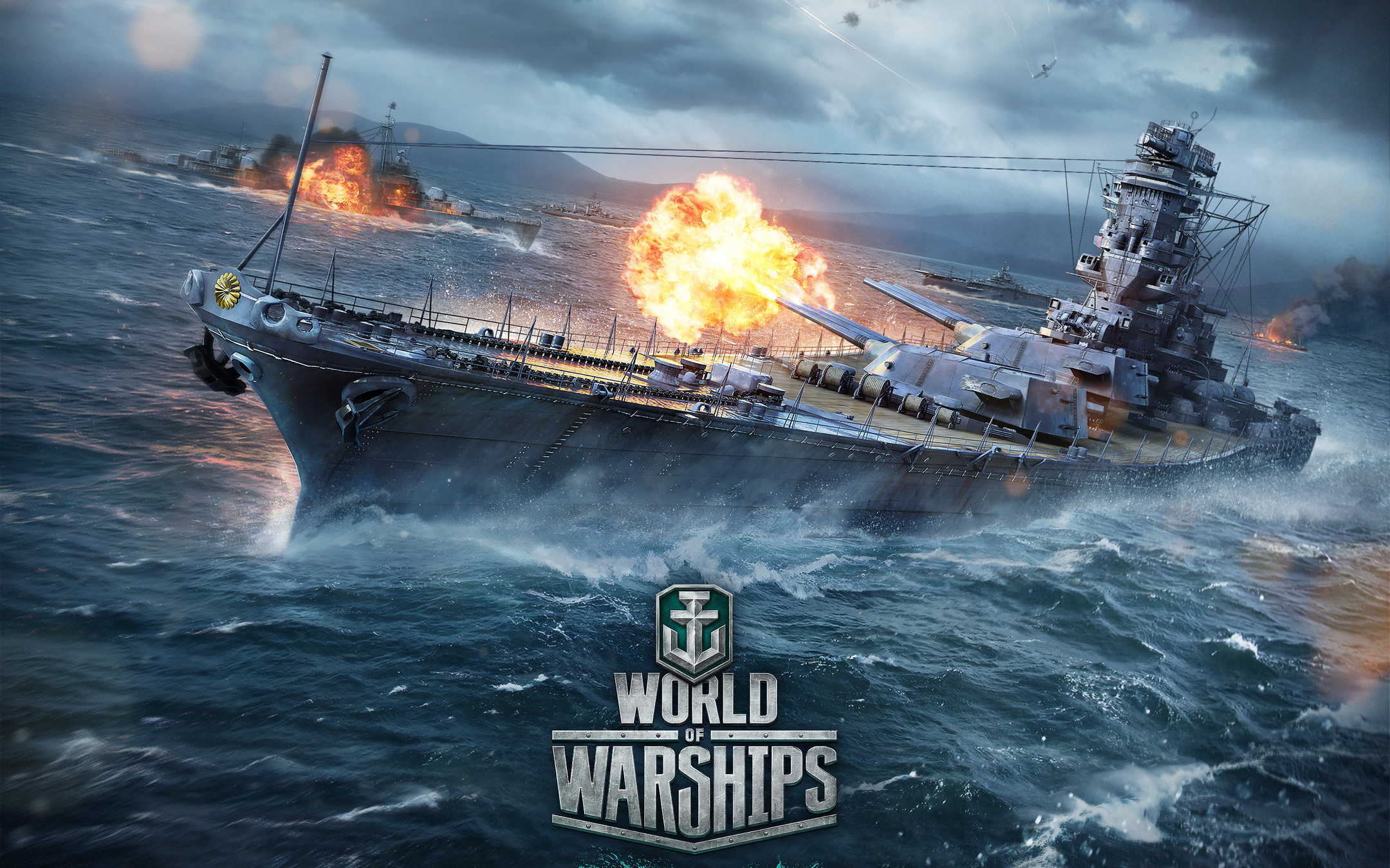 World Of Warships Review banner.