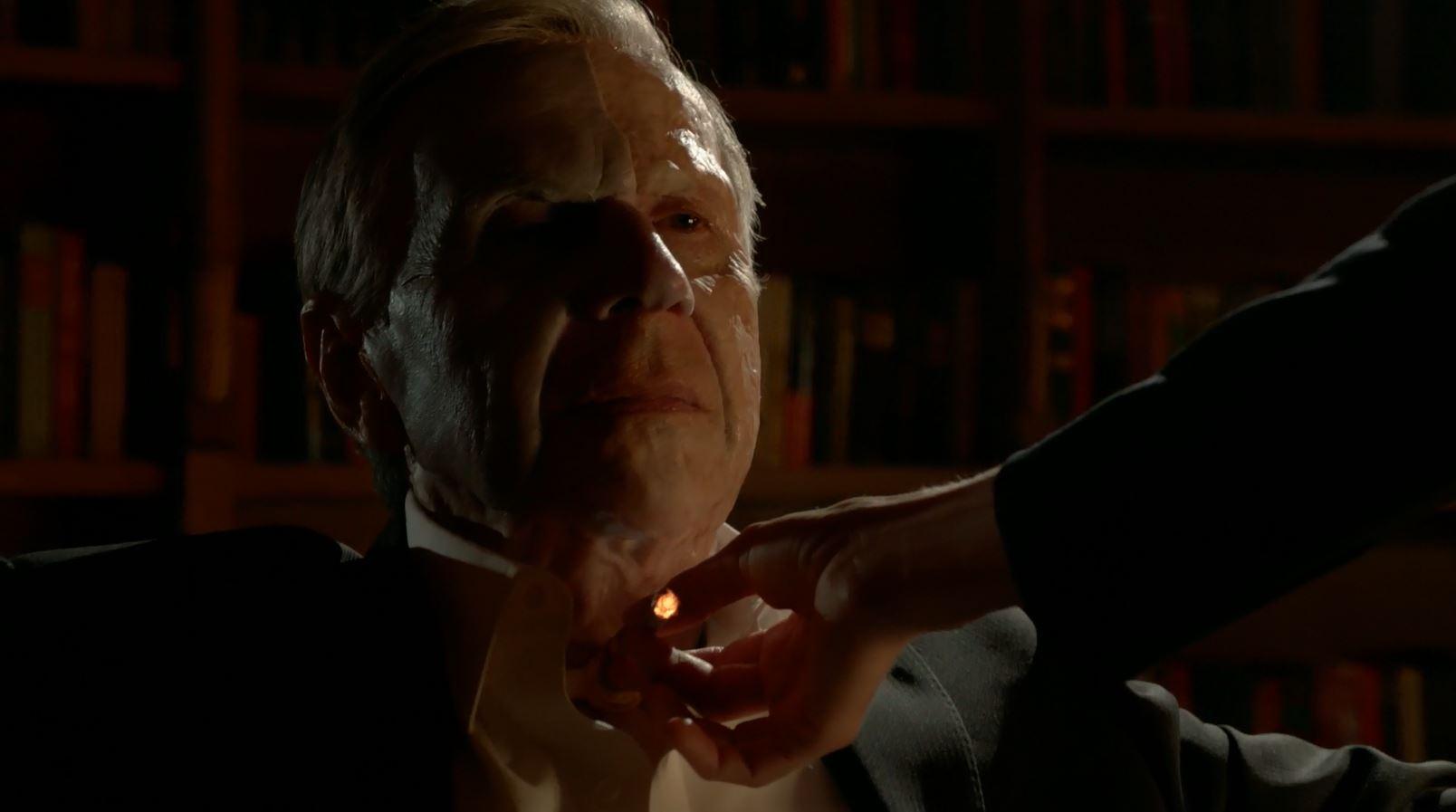 William B. Davis as Cigarette Smoking Man. The X-Files (miniseries) My Struggle Review