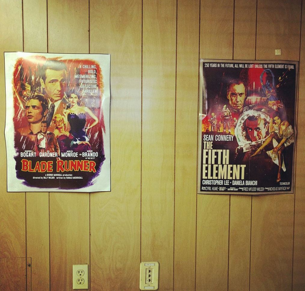 Moonshot poster Blade Runner and The Fifth Element